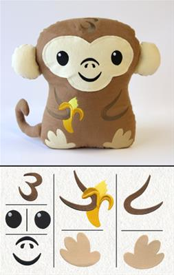 Monkey Plush Kit_image