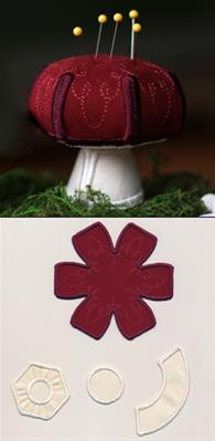 Mushroom Pincushion (Stuffed)_image