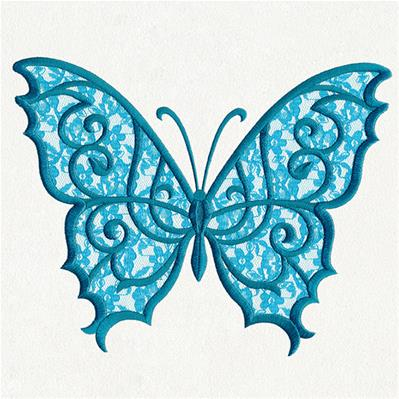 Lacy Butterfly (Applique)_image