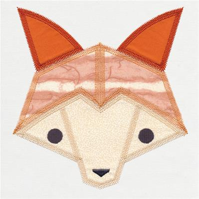 Fox Quilt Block (In-the-Hoop)_image