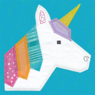 Unicorn Quilt Block (In-the-Hoop)_image