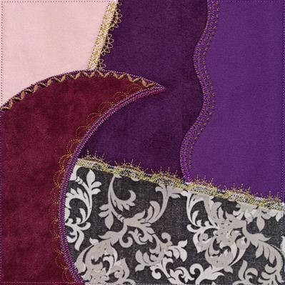 Crazy Quilt Block - Crescent (In-the-Hoop)_image