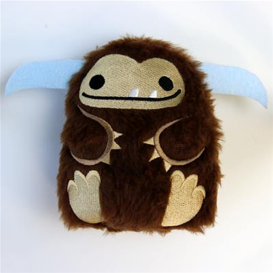 Fluffy Bigfoot (Stuffed)_image