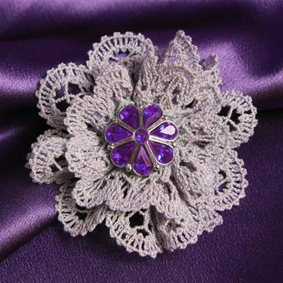 Soft Scalloped Brooch (Lace)_image
