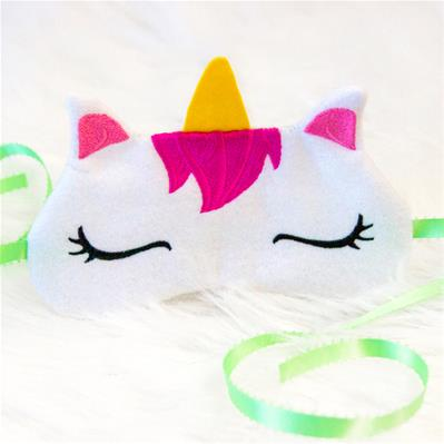 Sleepy Unicorn Eye Mask (In-the-Hoop)_image