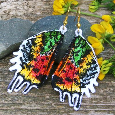 Madagascar Moth Wings (Freestanding)_image