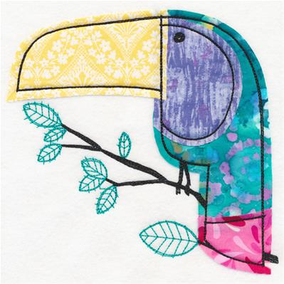 Toucan Play at that Game (Applique)_image