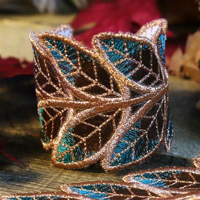 Autumn Glamour Cuff (In-the-Hoop)_image