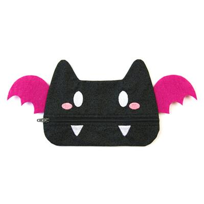 Batty Halloween Zipper Pouch (In-the-Hoop)_image
