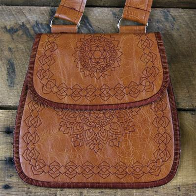 In a Stitch Leather Purse (In-the-Hoop)_image