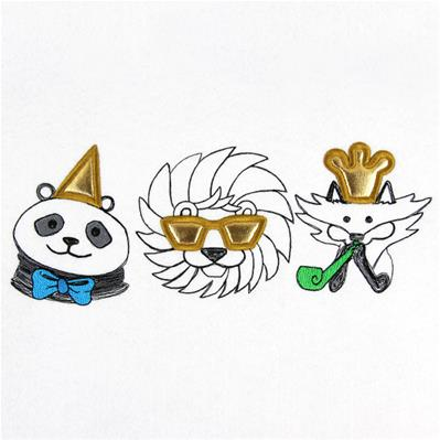Party Animal Trio (Applique)_image