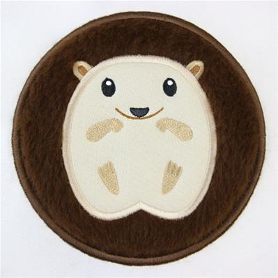 Fluffy Critters Hedgehog (Applique)_image