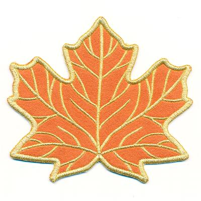Maple Leaf Coaster (In-the-Hoop)_image