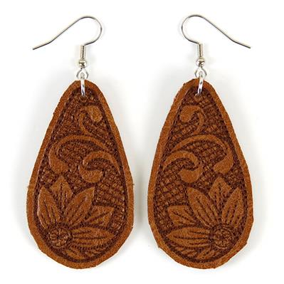 Southwestern Leather Earrings (In-the-Hoop)_image