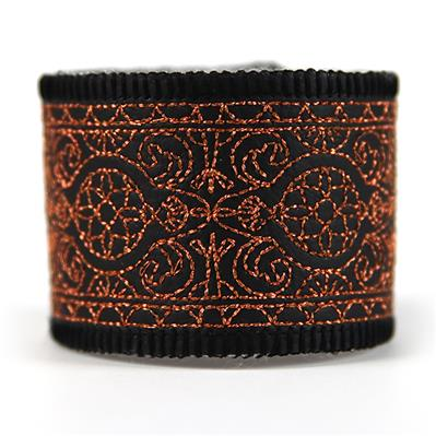Intricate Details Leather Cuff (In-the-Hoop)_image