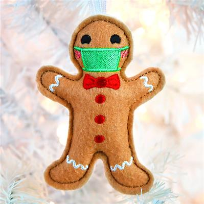Safety First Gingerbread Ornament (In-the-Hoop)_image