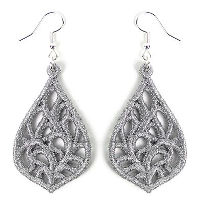 Exquisite Earrings (Lace)_image