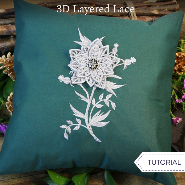 3D Layered Lace