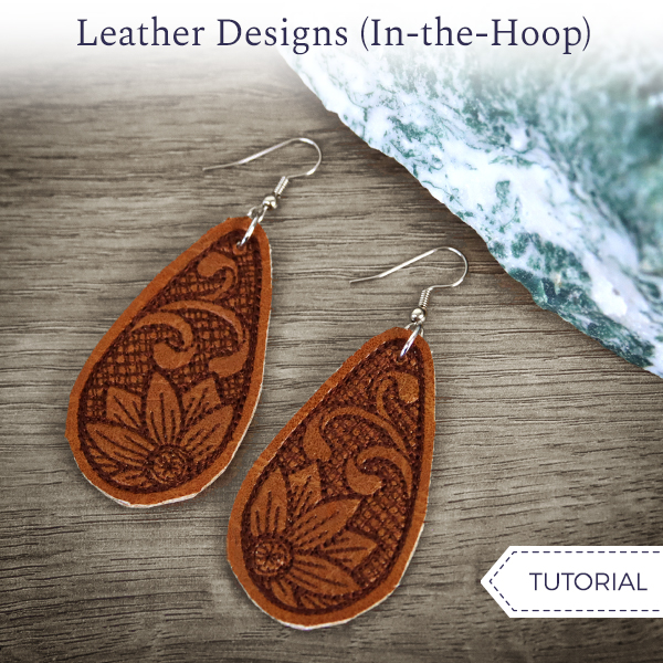 Leather Earrings (In-the-Hoop)