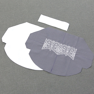 Embroidered Face Mask
