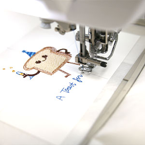 Embroidering On Cardstock