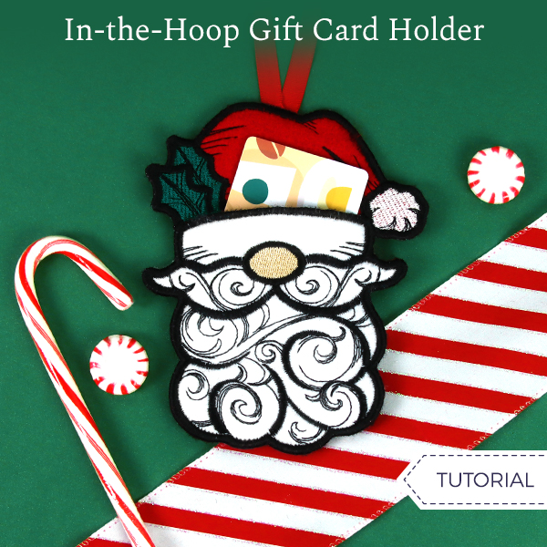 In-the-Hoop Gift Card Holder