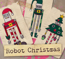 Robot Christmas (Design Pack)